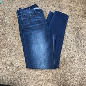 Lucky Brand Dark Wash Brooke Legging Jeans
